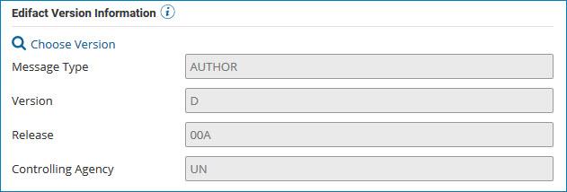 EDI profile's Options tab